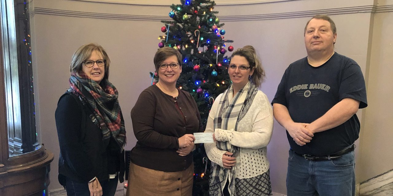 Hunger Coalition donates money to Little Falls Community Outreach