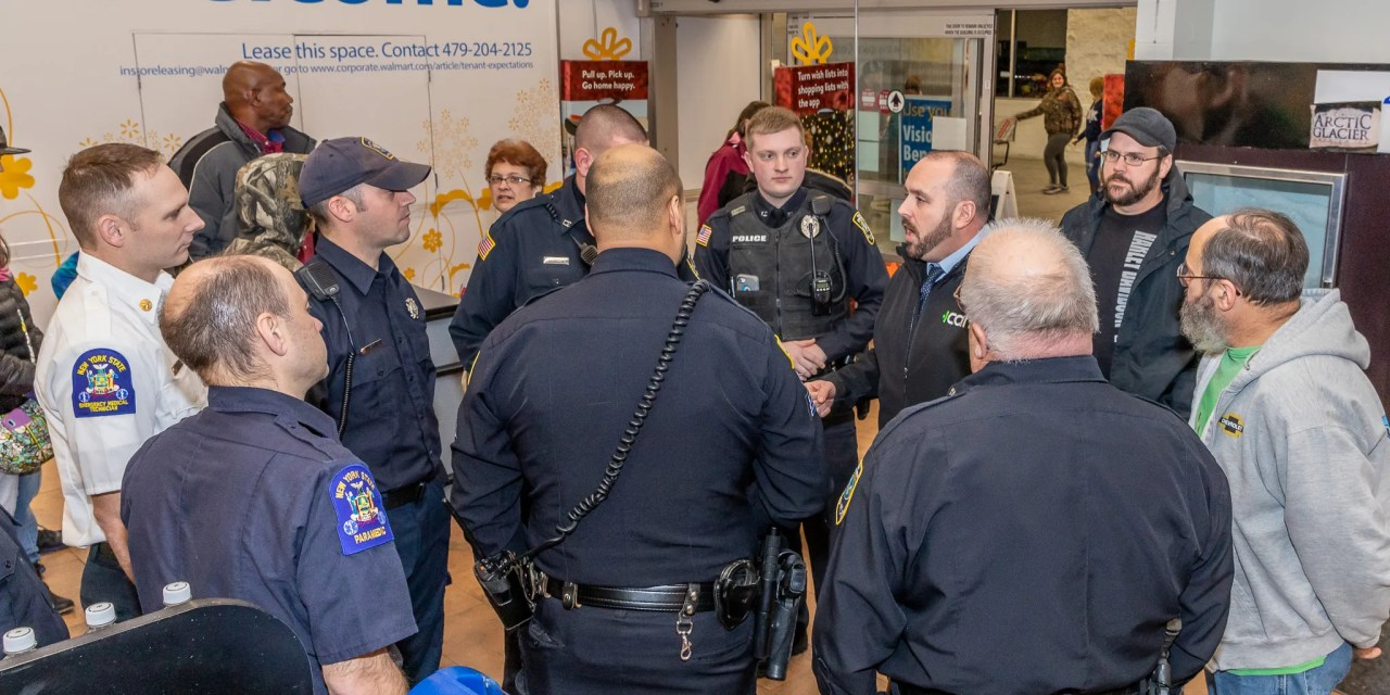 "Little Falls Cruise Inn and Herkimer Walmart Sponsored ""Shop with a Cop, Firefighter or Cruiser"""