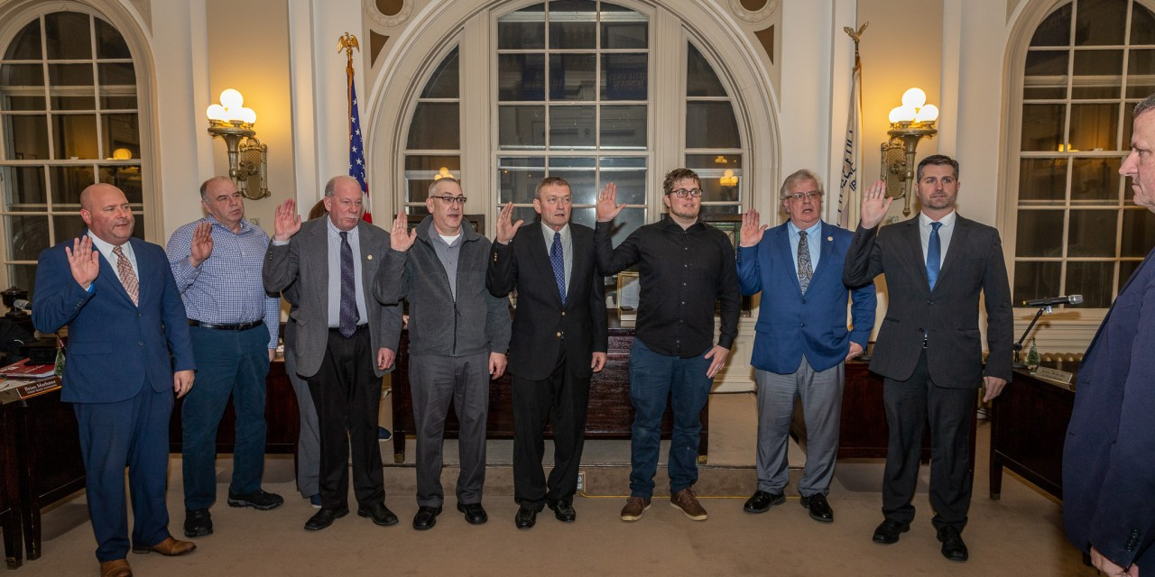 Common Council sworn in for 2020