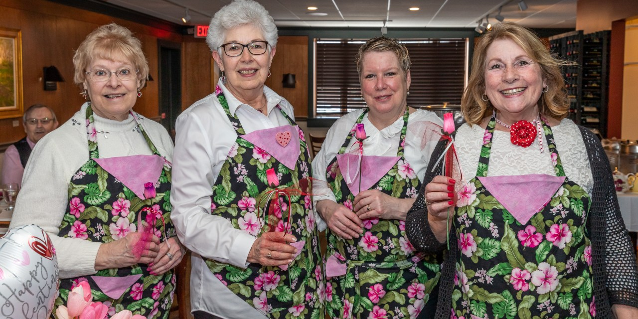 Valentine's Afternoon Tea draws crowd at Canal Side Inn