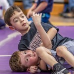 Youth wrestling hosts clinic at high school