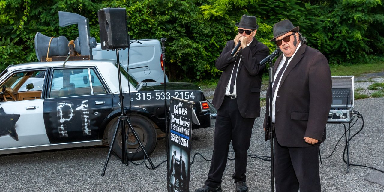 The Blues Brothers open, for well, The Blues Brothers