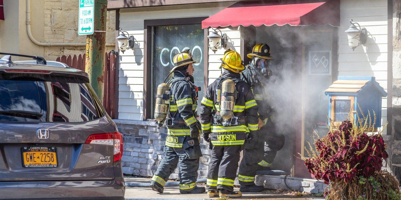 Coco Bazaar has fumes fill building