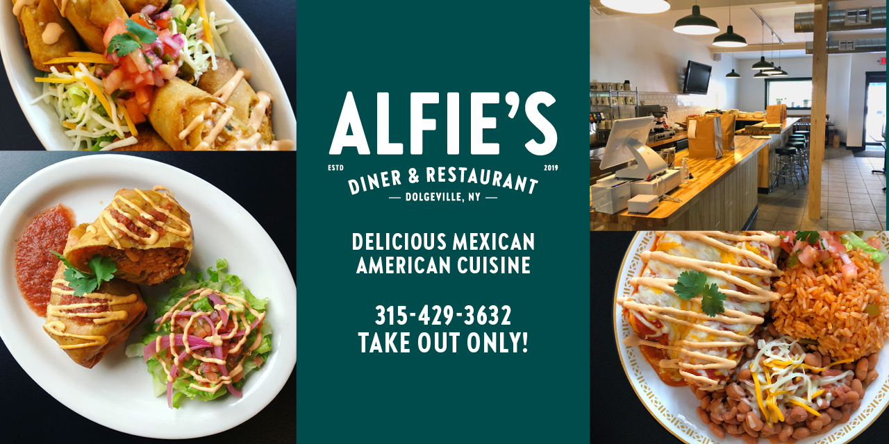 Alfie's Diner & Restaurant – Advertiser