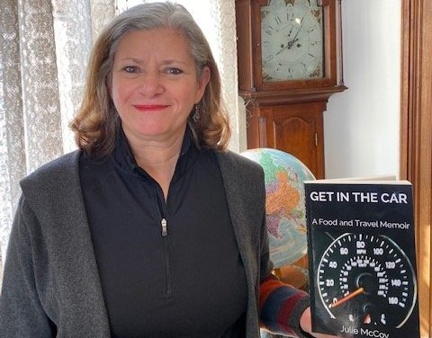 McCoy releases revised edition of Get in The Car: A Food and Travel Memoir