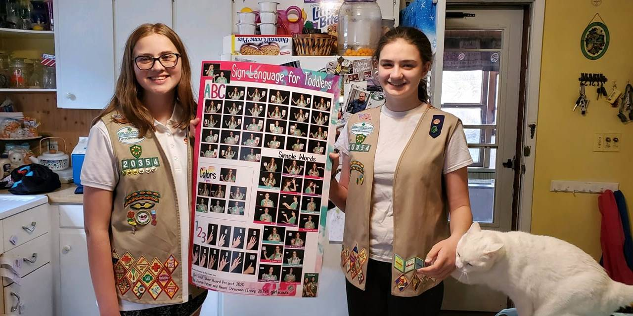 Little Falls Girl Scouts complete Silver Award