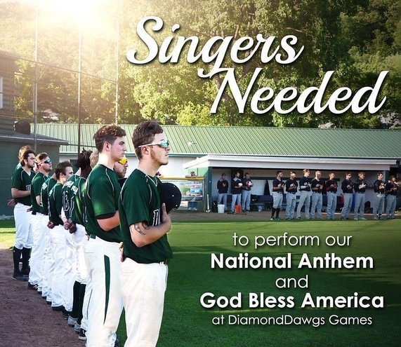 The DiamondDawgs need singers