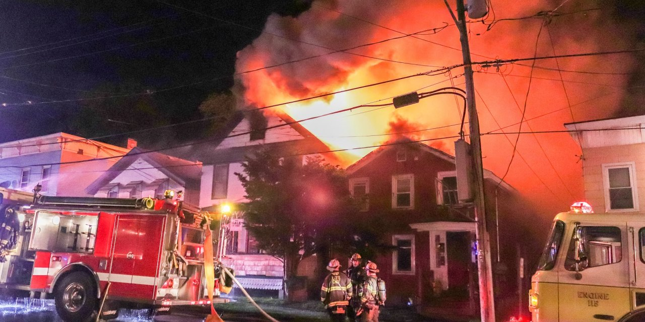 Fire consumes homes on Furnace Street