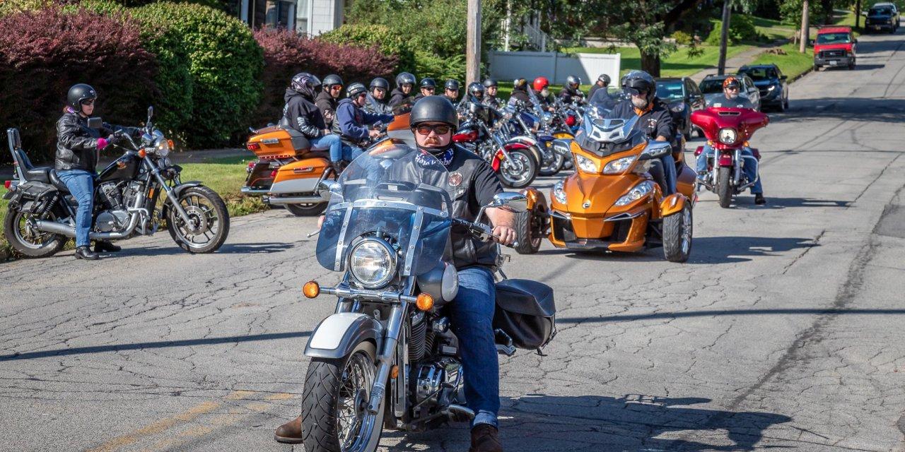 Elk's Riders motor for charity