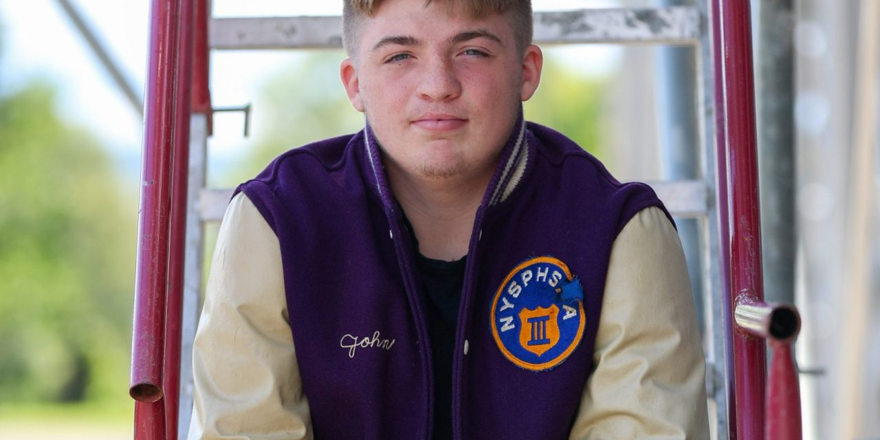 Little Falls Mounties Varsity Football Player of the Week Senior Spotlight on: John Shepardson