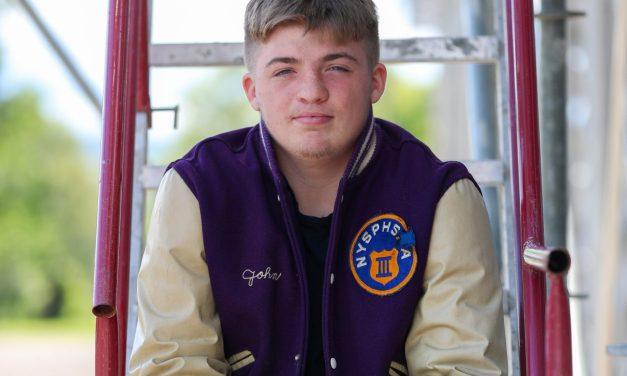 Little Falls Mounties Varsity Football Player of the Week Spotlight on: John Shepardson