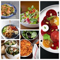 Recipe Round-Up: 25 Most Beautiful Salad Recipes