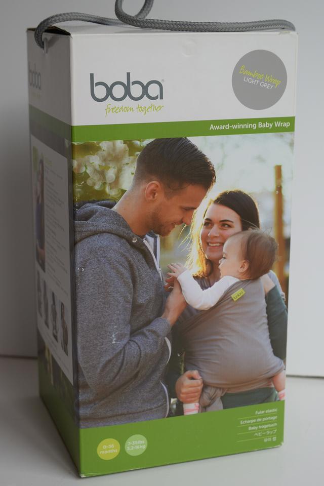 Fular Portabebés Boba Wrap Bamboo