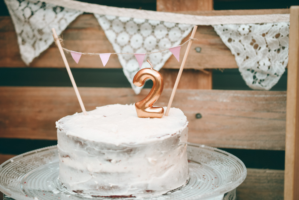 Topper de Banderines DIY para tarta