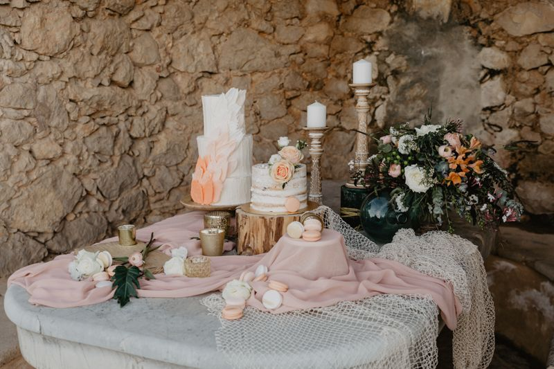 Mesa dulce con encanto mallorquin