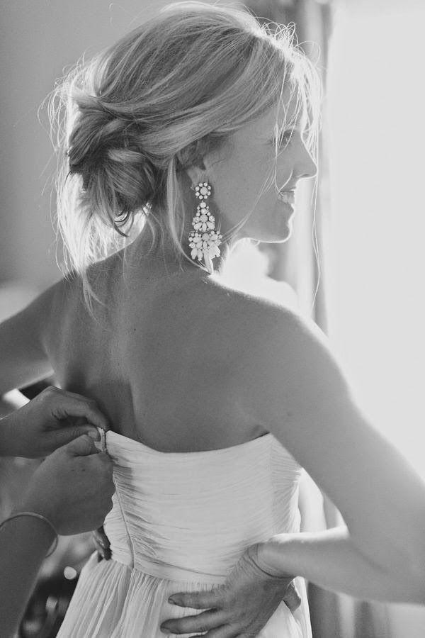 pendientes para novia