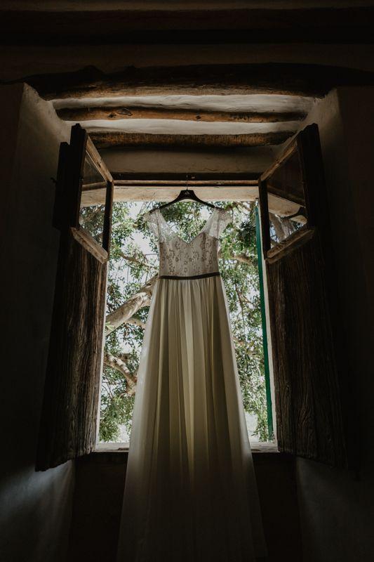 Vestido novia - diseñado por Tania Presa