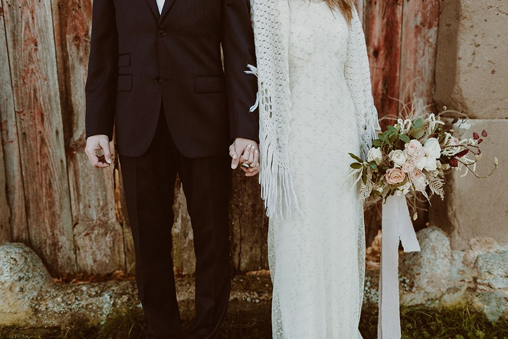 Detalle boda otoño