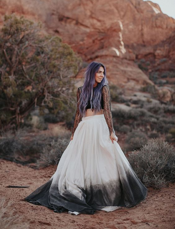 cabello novia ultra violet