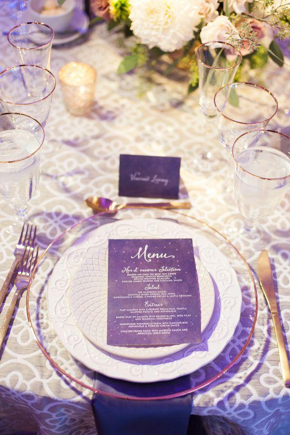 menu boda ultra violet