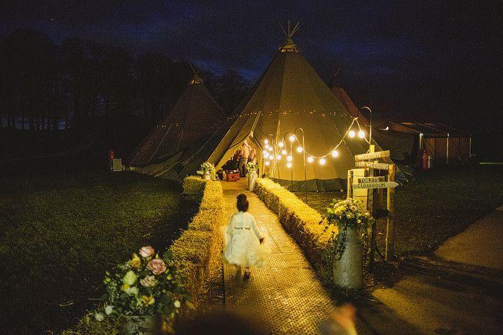 tipi para bodas