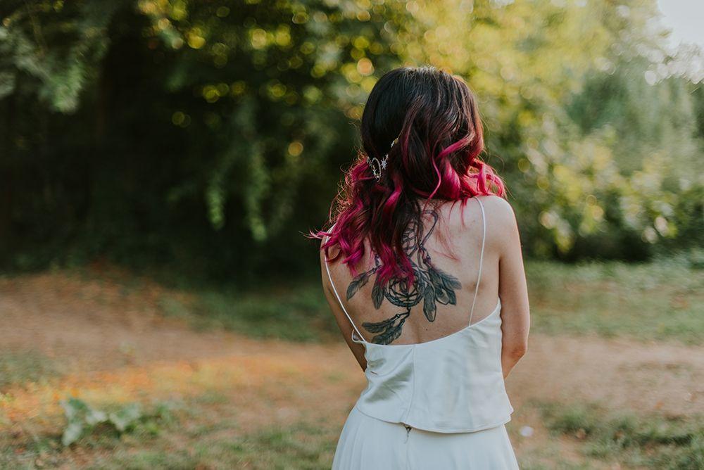 novia tatuada