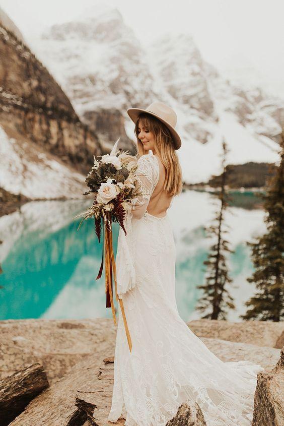 Sombrero para novias