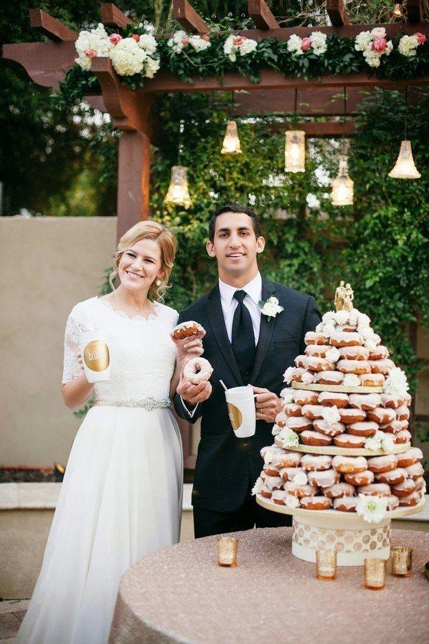 tarta rosquillas boda