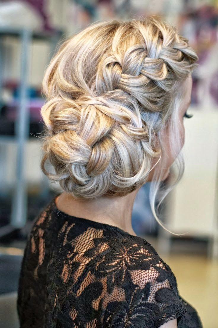 peinado trenza novia