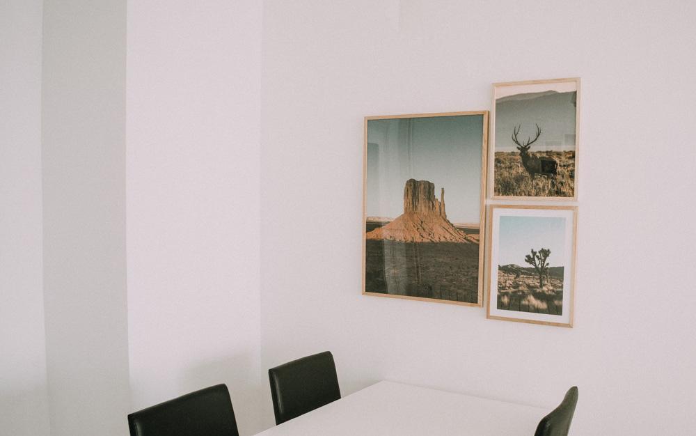 Decorar Salón con cuadros