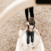 Why I don't stop my child from climbing up the slide