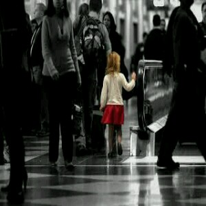 This is how I keep my child safe: when visiting busy places