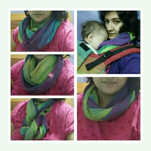 Anmol Infinity Scarf Review | A perfect nursing cover+ style accessory