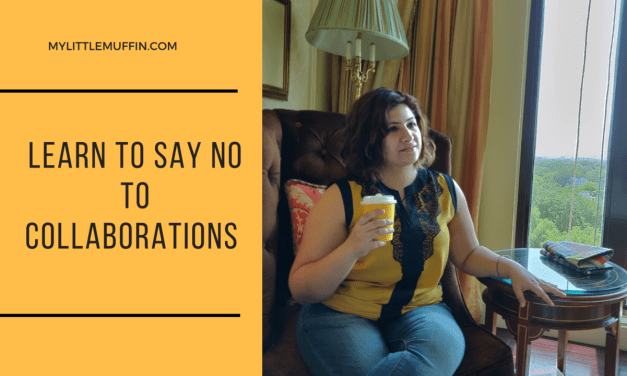 Collaborations : Learn to say NO