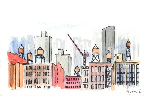 View Towards Midtown