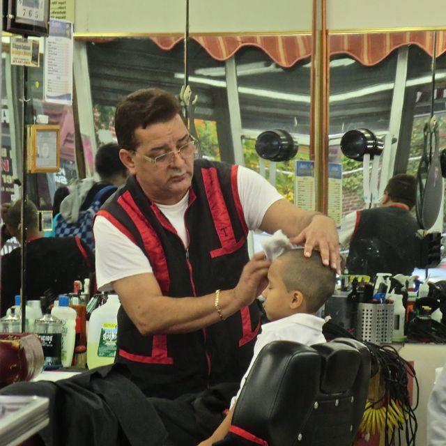 Haircut on Kingsbridge