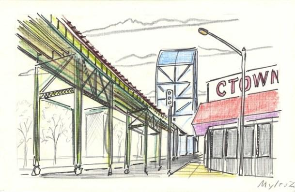 Subway Trestle (228th & Broadway)