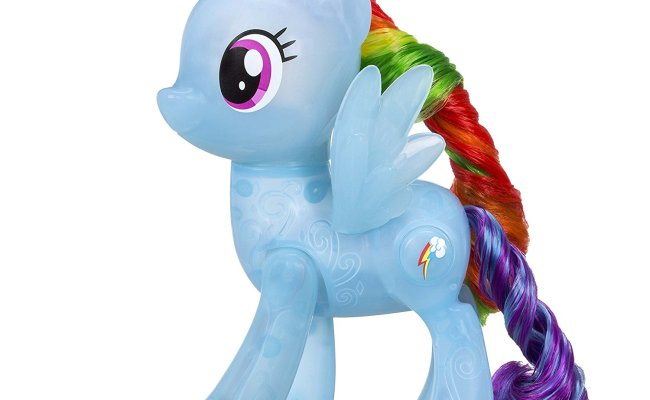 New My Little Pony The Movie Rainbow Dash Shining