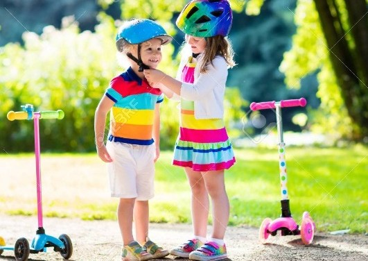 Why Does My Child Need a Helmet to Ride a Scooter?
