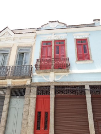 Lapa neighborhood houses.