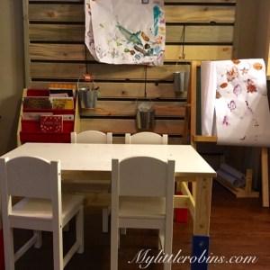 Playroom Wooden Wall