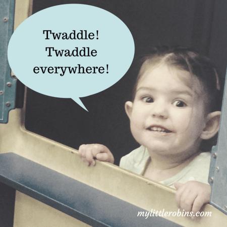 Twaddle everywhere!