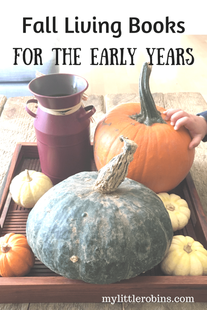 Fall Living Books for the Early Years