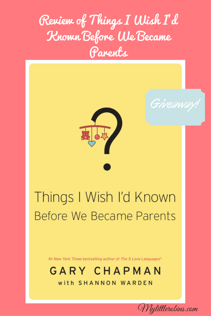 Review of Things I Wish I'd Known Before We Became Parents
