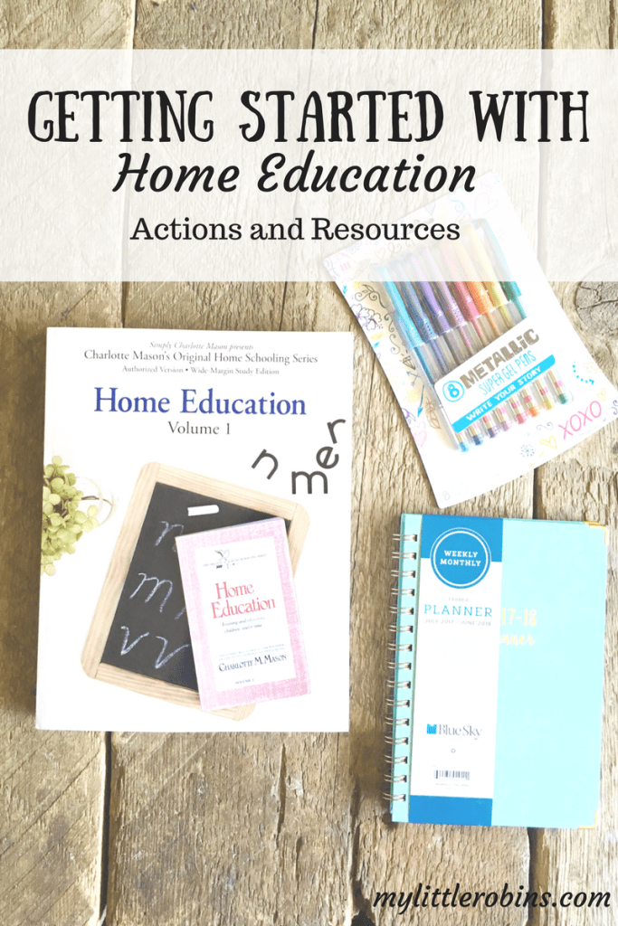 Getting Started with Home Education
