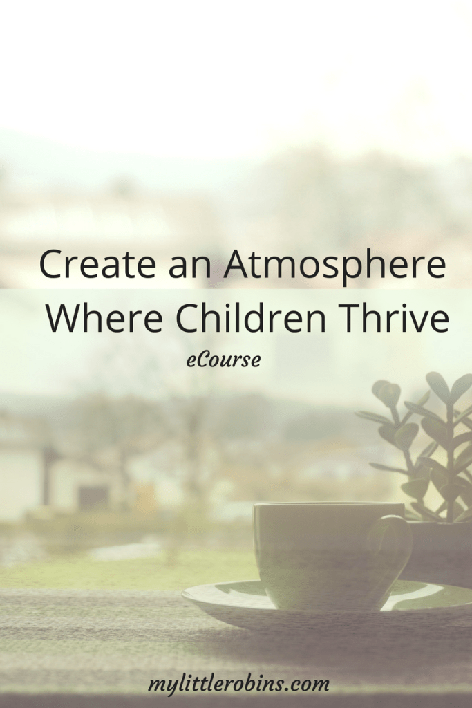 Create an Atmosphere Where Children Thrive
