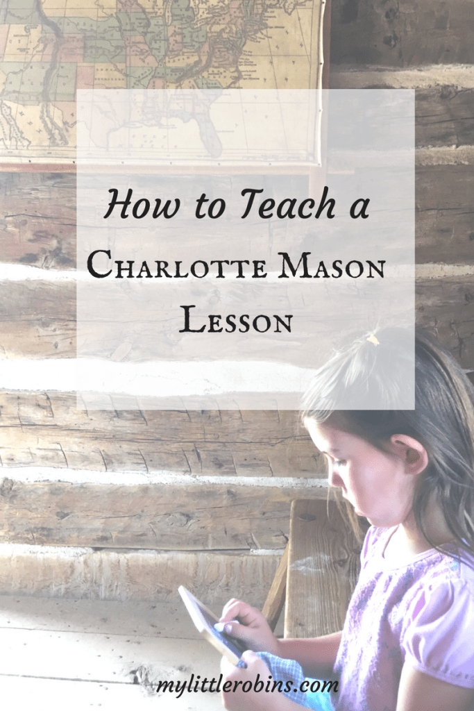 A Charlotte Mason lesson requires a little more from mothers than some people think! Charlotte Mason described the method of a lesson, which I investigated in this post.