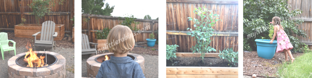 Outdoor spaces for learning and play