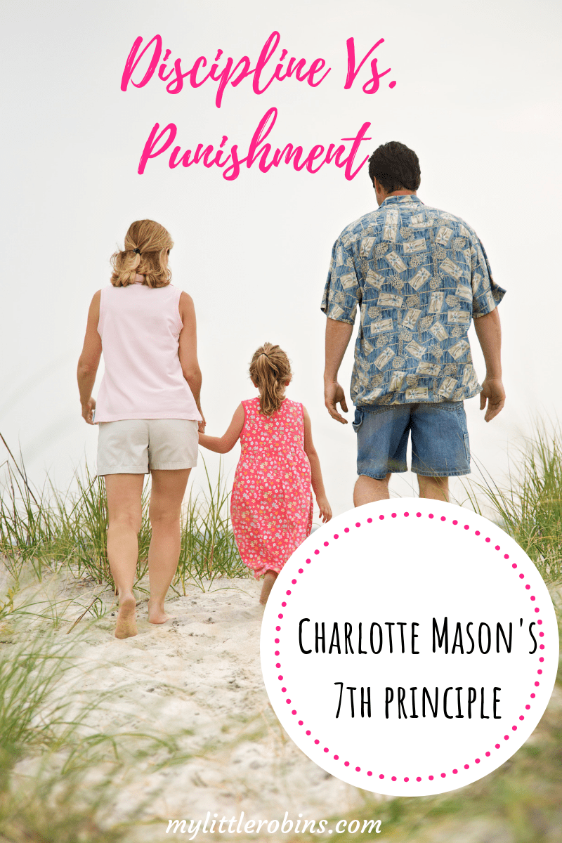 Charlotte Mason's 7th principle- Education is a discipline. I've spent a lot of time writing about habits, so I wanted to specifically address what she meant by discipline.