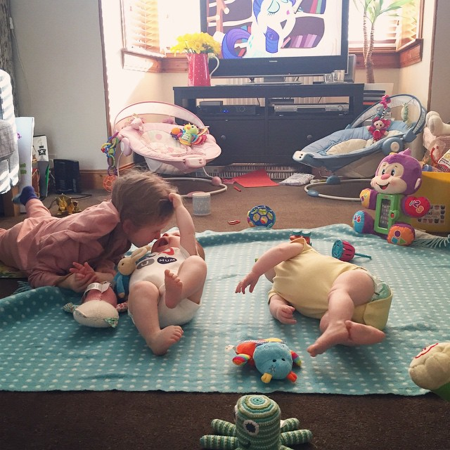 47/365 The reality. This is pretty much how my sitting room looks most days. Full of toys and children. Instagram life vs real life at its best.